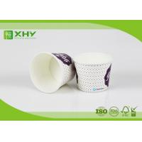 16oz 500cc Disposable Paper Ice Cream Cups with Clear Dome Lids for Taking Away