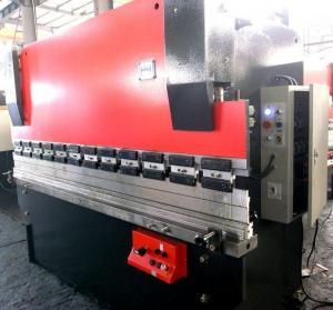 Wholesale 37 KW WC67K CNC Hydraulic sheet metal forming Press Brake machine fabrication machinery from china suppliers