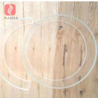 China Big O.D borosilicate glass tubing for making glass chemical pipeline,3.3 EXP Pyrex glass tubes on sale