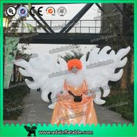 Wholesale White Parade Inflatable Wing With Led Lighting 2m/3m Customized For Event Decoration from china suppliers