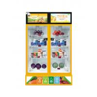 Wholesale Office Snack Food Vending Machines 4~5 Shelves 420 L Electric Door Lock from china suppliers