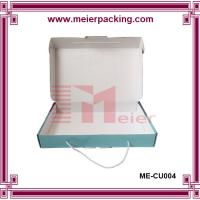 Wholesale Cotton handle corrugated paper box, shopping carrier handle gift box ME-CU004 from china suppliers