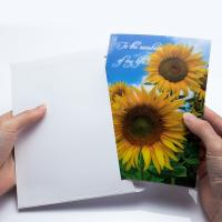 Wholesale Holiday Celebration Thank You 3D Lenticular Greeting Card CMYK Printing from china suppliers