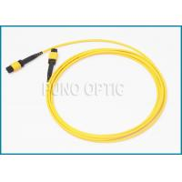 Wholesale Single / Multi Mode MPO Fiber Optic Cable With LSZH Outer Jacket IEC Standard from china suppliers