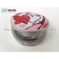 Quality Logo Printing Pocket Makeup Mirror Cosmetic Mirror With Sound for sale