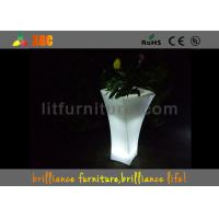 Wholesale Banquet Hall Remote Control LED Flower Pot With Lithium Battery from china suppliers