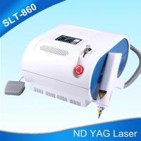 Buy cheap Portable ND Yag Laser Tattoo Removal Machine For Eyeline Removal , Birthmark from wholesalers