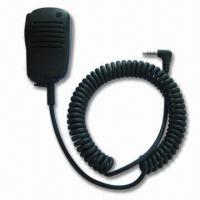 Wholesale Handheld Two-way Radio Speaker Microphone with 176 to 360° Metal Clip from china suppliers