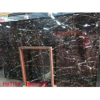 Negro Marquina Black Marble Slab And Tiles Bathroom Vanitytops For Residential Apartment for sale