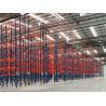 Buy cheap Dark Blue / Orange Red Industrial Pallet Rack Shelving Warehouse Storage Racks from wholesalers