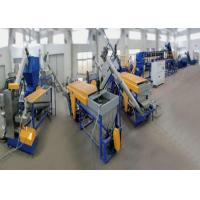 PET Material Washing Plastic Recycling Line Post Consumer Bottles Flakes Washing for sale