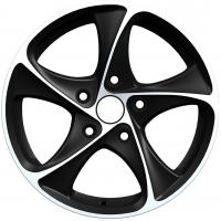 Wholesale Full painted Black 15 Inch Alloy Wheels 5 Hole For Vehicle from china suppliers