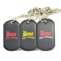 Wholesale Colorful Aluminum Sublimation Pet Identification Tags , 3D Custom Dog Tags For Pets from china suppliers