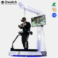 Wholesale Virtual Reality Shooting Games Simulator VR Treadmill Simulator With Gun Model from china suppliers