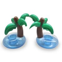 Buy cheap Mini Palm Tree Pool Floating Drink Inflatable Can Holder,for party,pool swimming,outdoor or indoor from wholesalers