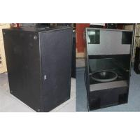 China Powerful Double 18 inch Subwoofer Speakers 2400W RMS for Concert and Tour on sale