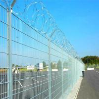 China Military isolation fence with razor barbed wire on sale