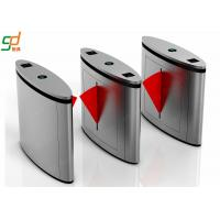 Wholesale Stainless Steel Flap Barrier Gate Optical Turnstile, Rfid Reader Security Turnstiles from china suppliers