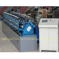 Wholesale Professional Stud And Track Roll Forming Machine With Hydraulic Hole Punching Automatic Control Siemens PLC from china suppliers