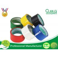 Wholesale Stable 48mm Red PVC Packing Tape , Light Weight Custom Printed Parcel Tape from china suppliers