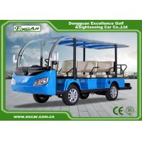 China EXCAR 11 Seater 72v Electric Shuttle Bus electric car china tour bus for sale on sale