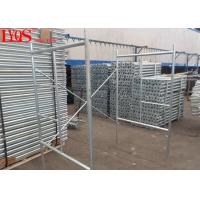 Buy cheap Galvanized Quick Lock Scaffolding 2.0mm Thickness For Masonry , 5 Year Warranty from wholesalers
