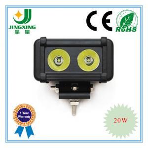 China Single row 20w 6 Cree illuminator led light bar on sale