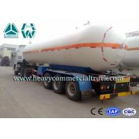 Wholesale Round Shape Large Capacity Gas Tank Semi Trailer Anti - Corrosion Propane from china suppliers