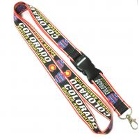 Wholesale Colorful Dye Sublimation Heat Transfer Lanyard With Plastic Buckle from china suppliers