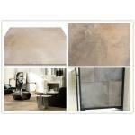 China Durable Cement Look Porcelain Tile Glazed Concave Convex Pattern Surface for sale
