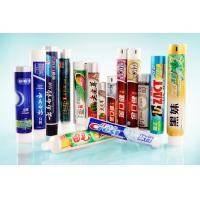 Colored Offset Printing Toothpaste Tube Packaging, Plastic Laminated Tubes for sale