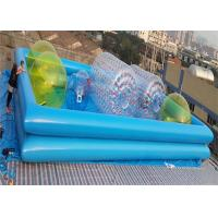 Wholesale Colorful 1.0MM PVC Water Ball Inflatable Water Parks / Double-layer Inflatable Pool from china suppliers