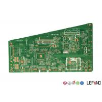 Wholesale 1.6 Mm 2 Sided PCBTelevision / TV Circuit Board , Rigid Clone PCB Board from china suppliers