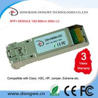 Quality Multi Mode 850nm 300m 10G SFP+ Transceiver Compatible Cisco SFP-10G-SR for sale