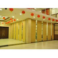 Steel Movable Partition Office Hanging Sliding Door  For International Convention Centers