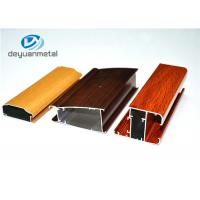 Wholesale Different Color 6063-T5 Aluminum Window Profiles Wood Grain For Household from china suppliers