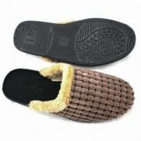 Wholesale Suede Slippers for Men, Customized Colors are Accepted from china suppliers