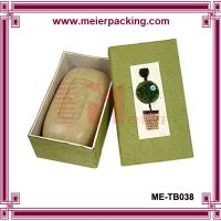 Wholesale Skin care handmade soap paper box/Nature soap cardboard paper box ME-TB038 from china suppliers