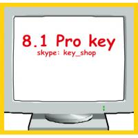 Wholesale FPP and OEM 100% online activated Windows 8 W8.1 Pro key computer OEM sticker DHL free shipping from china suppliers