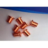 China Capacitor Discharge Flanged Stud Welding Pins With Thread Or No Thread  Fastening on sale