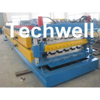 Wholesale High Grade 45# Axis Double Layer Roll Former / Roll Forming Machine For Roofing Sheets from china suppliers