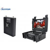 Wholesale Backpack COFDM Transmitter , Microwave A / V portable Wireless Hdmi Video Transmitter Encrypted from china suppliers