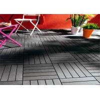 Wholesale DIY Graden Wood plastic composite Decking Tiles , High Plasticity Outdoor Floor Decking Tiles For Decoration from china suppliers