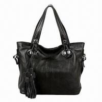 China Genuine Leather Handbag for Women, Fashionable, with Soft Texture, Measures 37 x 13 x 28cm on sale