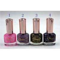 China Private Label Customized Nail Polish , Women Gel Nail Polish 14ml on sale