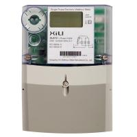 Wholesale Prepayment kilowatt hour meter 1 phase 2 wire with LCD display IEC 62053-21 from china suppliers