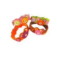 Wholesale Cartoon / Sport Designs Soft PVC Custom Event Wristbands For Promotional Gifts from china suppliers