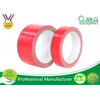 Quality Multi - Purpose Red Duct Tape 6 Rolls/Set Water Resistant Duct Tape Rubber Adhesive for sale