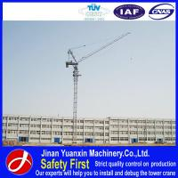 Wholesale China high quality competitive price luffing jib crane for construction from china suppliers