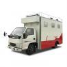 Customized JMC Mobile Cooking Trucks , Street Food Truck For Dessert / Cafes / Boissons for sale